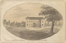 The Priory at Hitchin, the seat of John Ratcliffe Esq